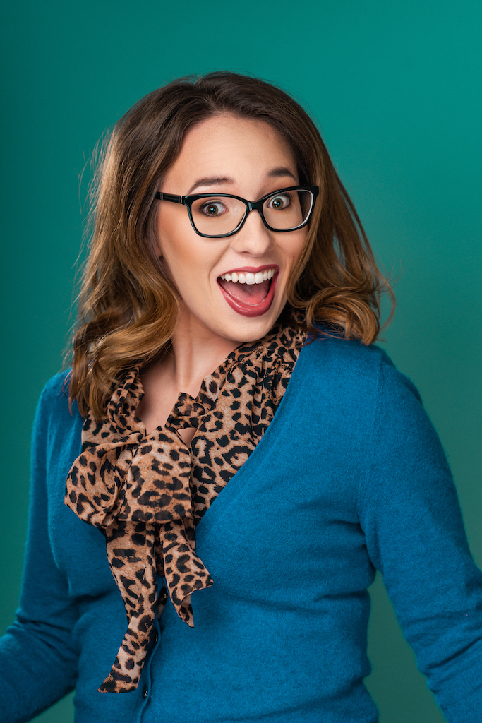 Annie Lockwood Glasses Commercial Headshot